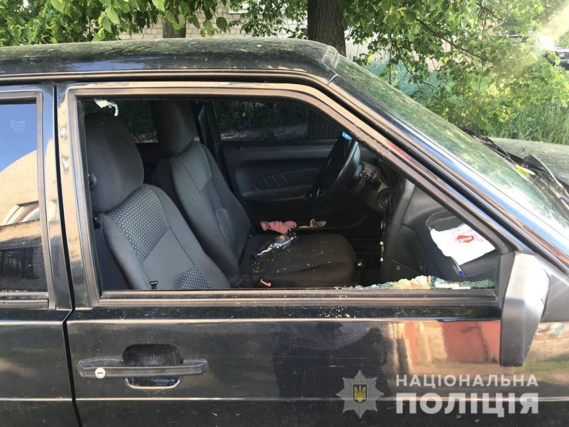 Новости Харькова: полиция задержала мужчину, который повредил 12 автомобилей