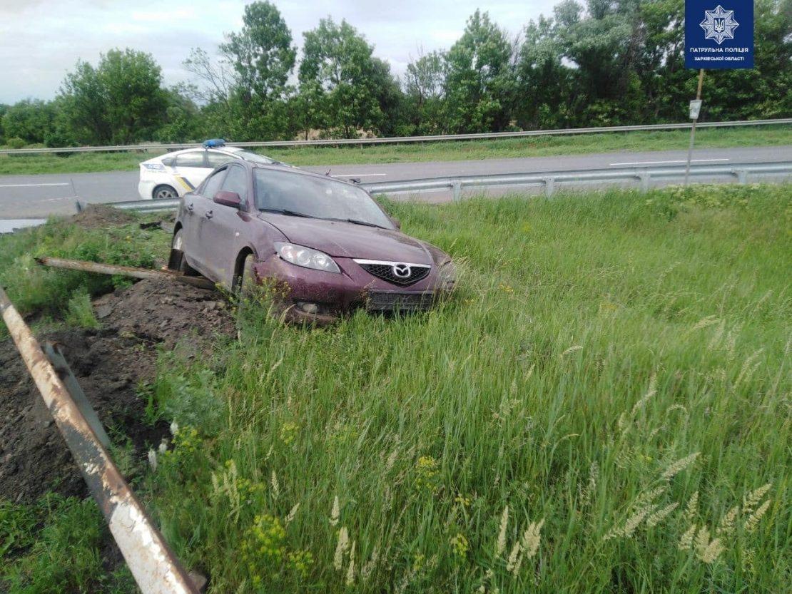 Новости Харькова: Пьяный в хлам водитель пытался сбежать от копов