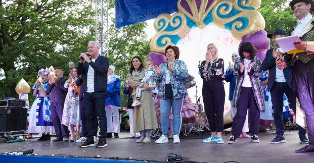 Новости Харькова: На улицах Харькова ходили сказочные герои