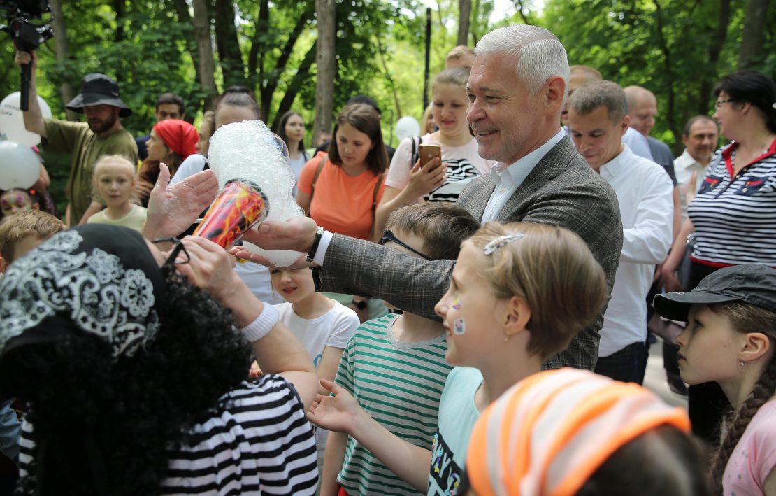 Новости Харькова: Харьковчане отмечают День защиты детей