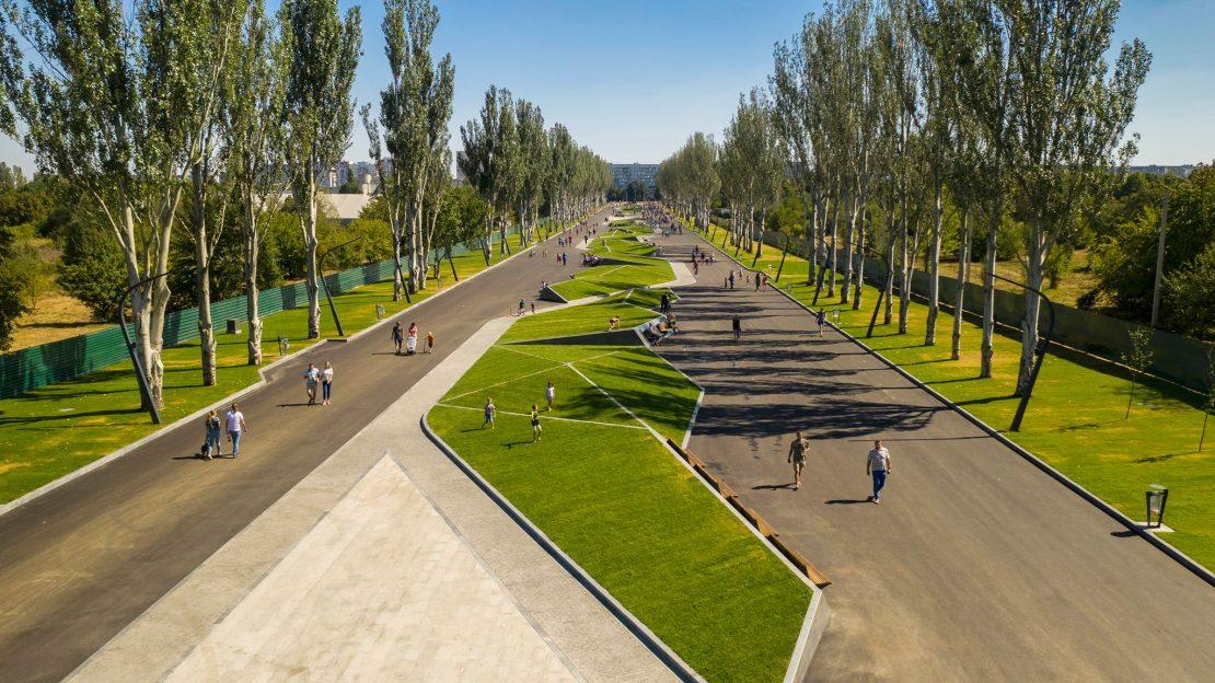 Новости Харькова: Парковые зоны Харькова объединит «Зеленый каркас»