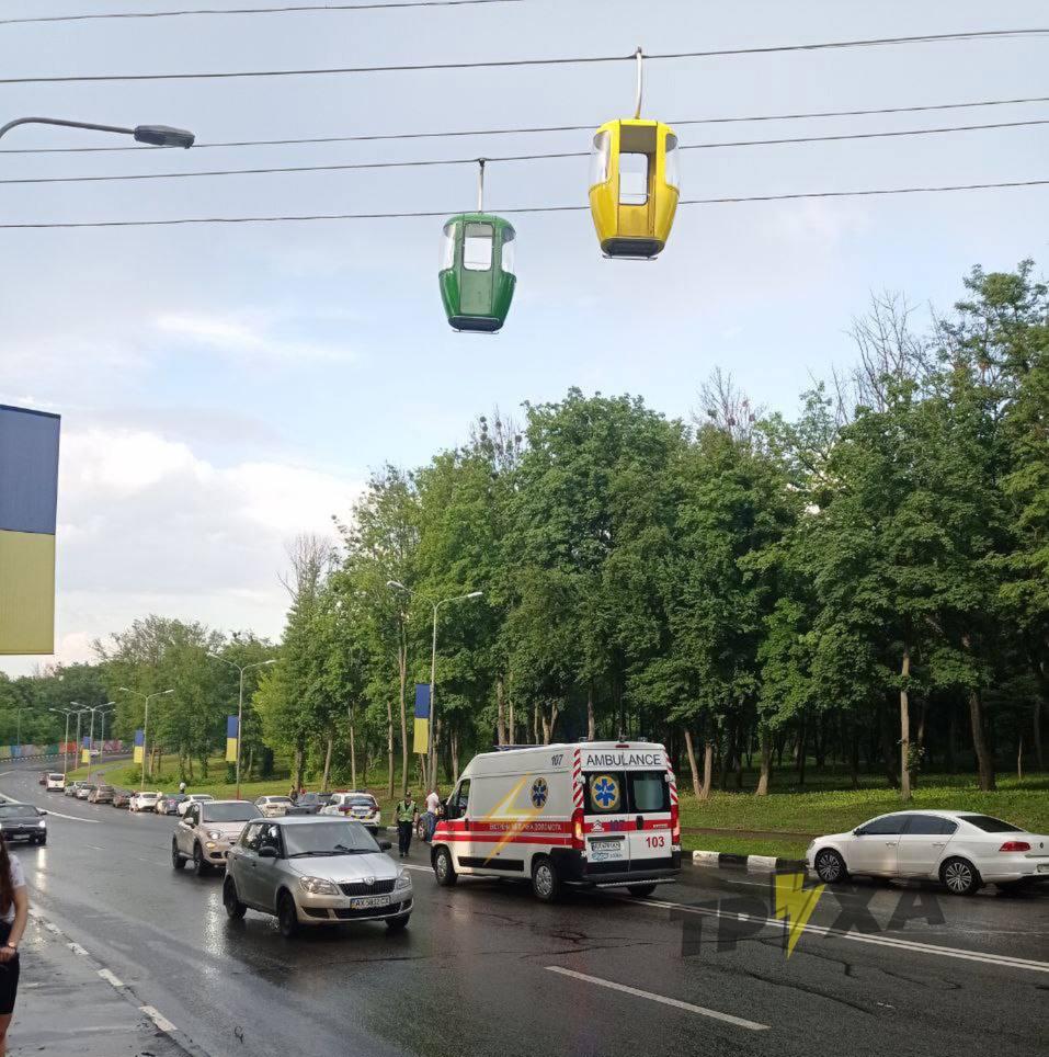 В Харькове ЧП на канатной дороге. Новости Харькова