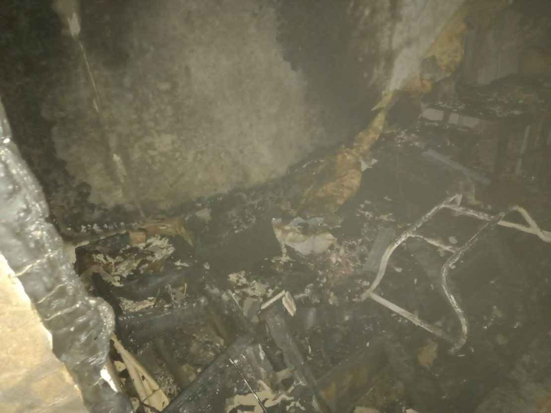 Новости Харькова: Пожар чуть не убил пенсионера