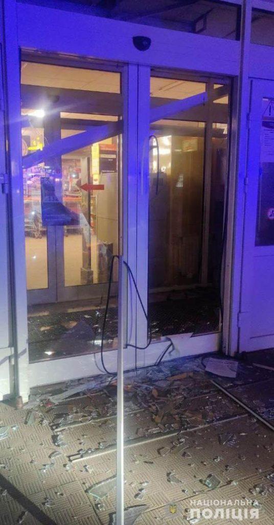 Взорвали банкомат на Залютино в Харькове. Новости Харькова