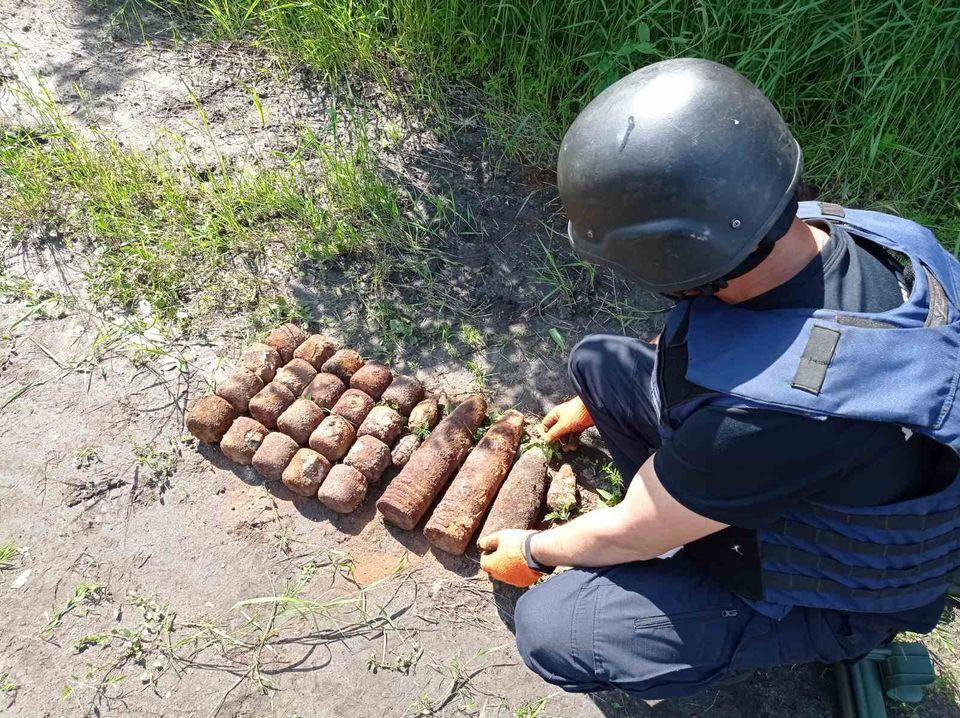 Под Харьковом нашли взрывоопасные предметы. Новости Харькова