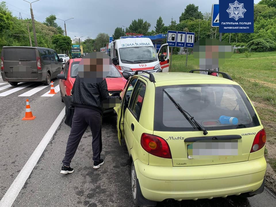 Новости Харькова: В двух авариях пострадали шесть человек