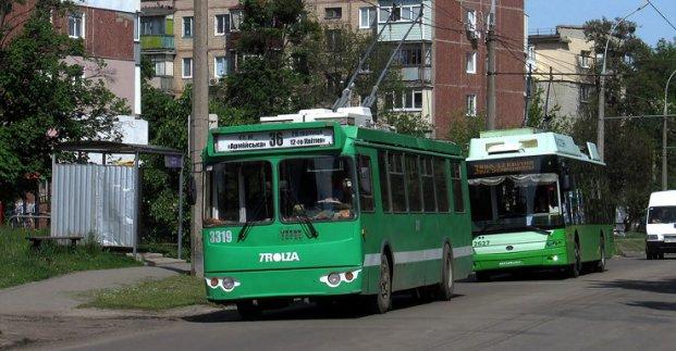 В Харькове троллейбусы изменят маршруты. Новости Харькова