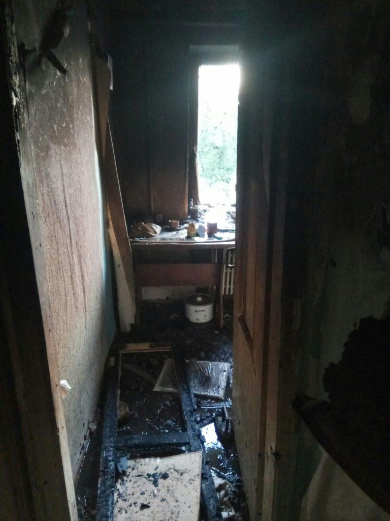 В Харькове на пожаре погиб мужчина. Новости Харькова
