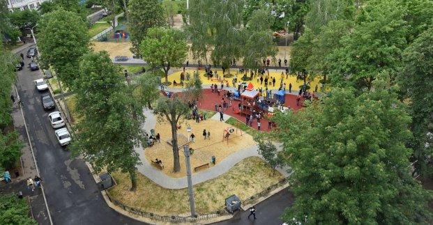 Новости Харькова: На Алексеевке открыли чудо-площадку