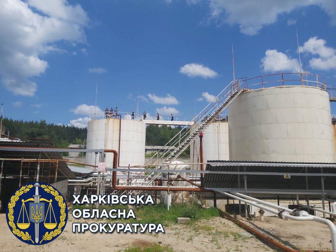 В Мерефе закрыли завод по производству топлива. Новости Харькова