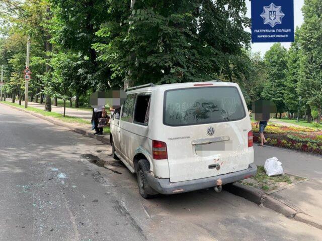 На ХТЗ произошло тройное ДТП. Новости Харькова