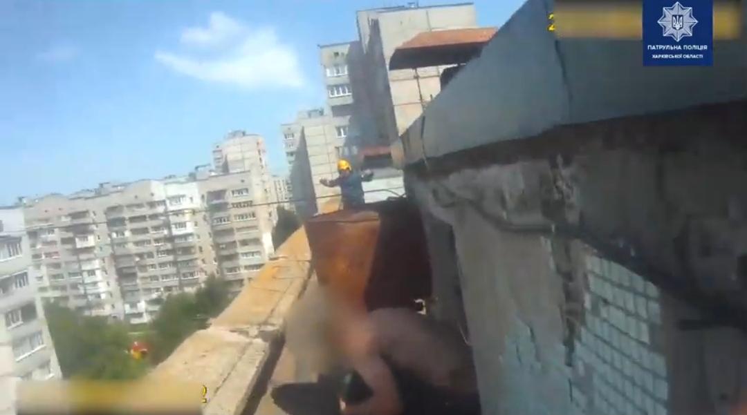 В Харькове спасли самоубийцу. Новости Харькова