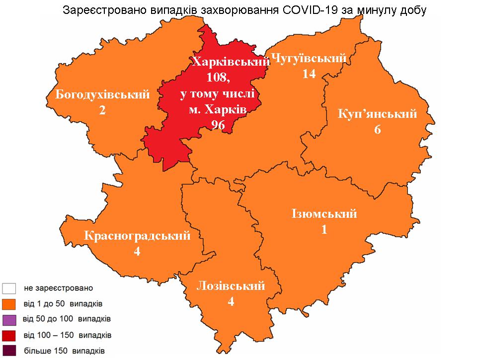 Новости Харькова: COVID-19 отправил на тот свет 21 человека