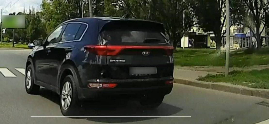 В Харькове наказали лихача-водителя. Новости Харькова