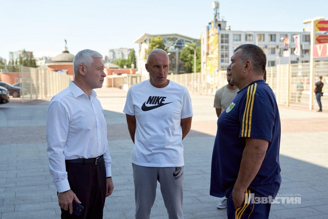 В Харькове будут лучшие футбольные поля. Новости Харькова