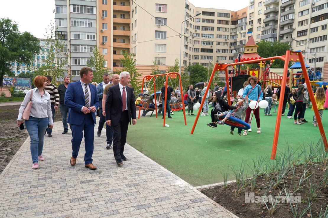 Новая игровая площадка в Слободском районе. Новости Харькова