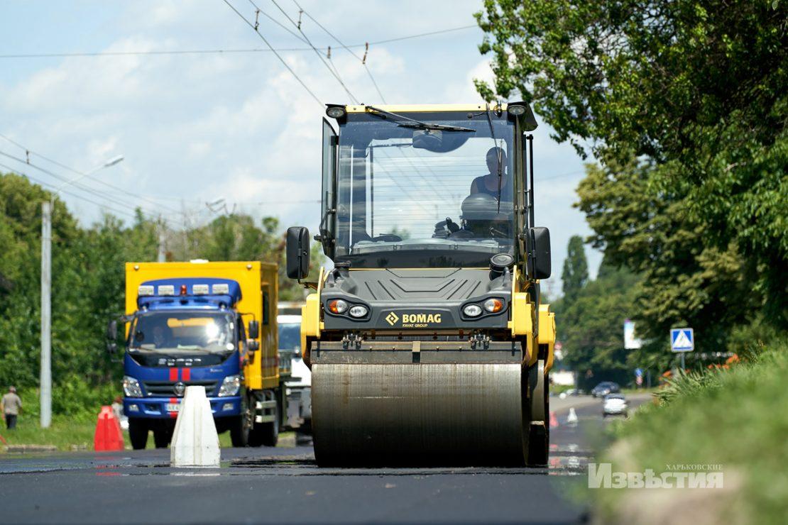 Новости Харькова: На Роганской стартовал ремонт дороги