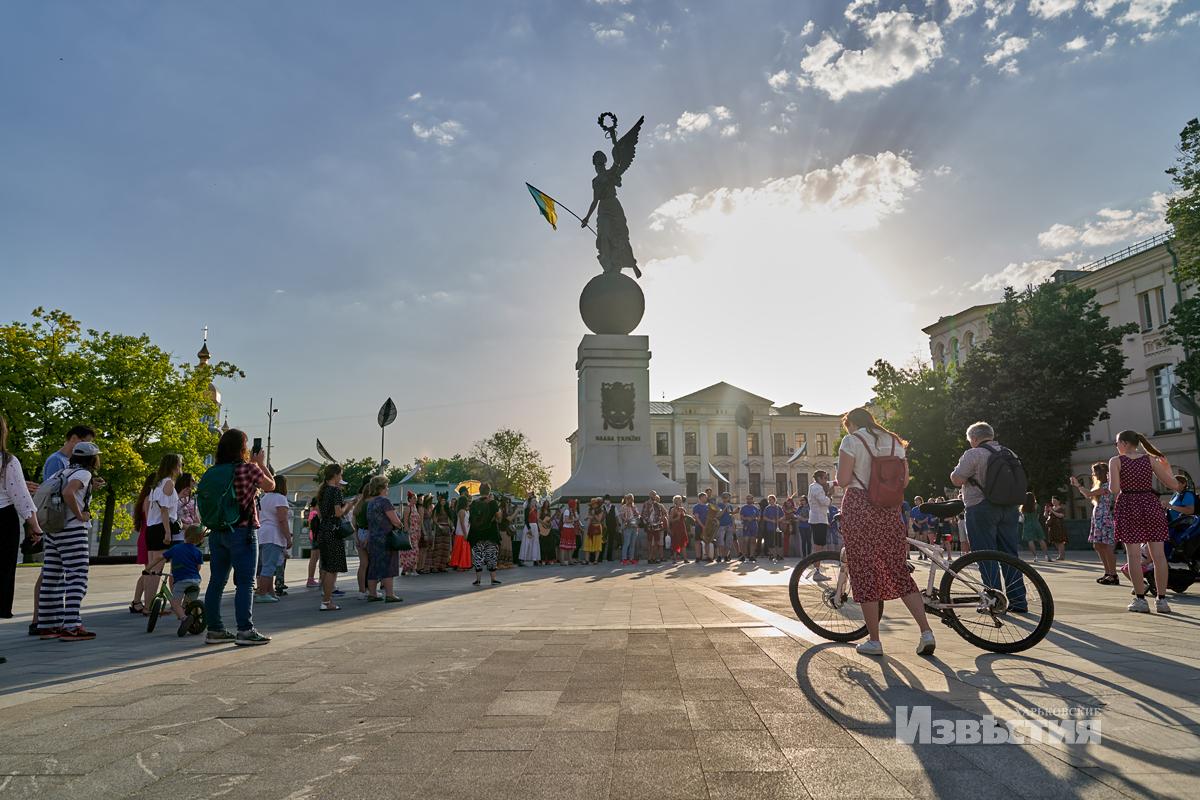 В Харькове прошел необычный концерт на воде. Новости Харькова