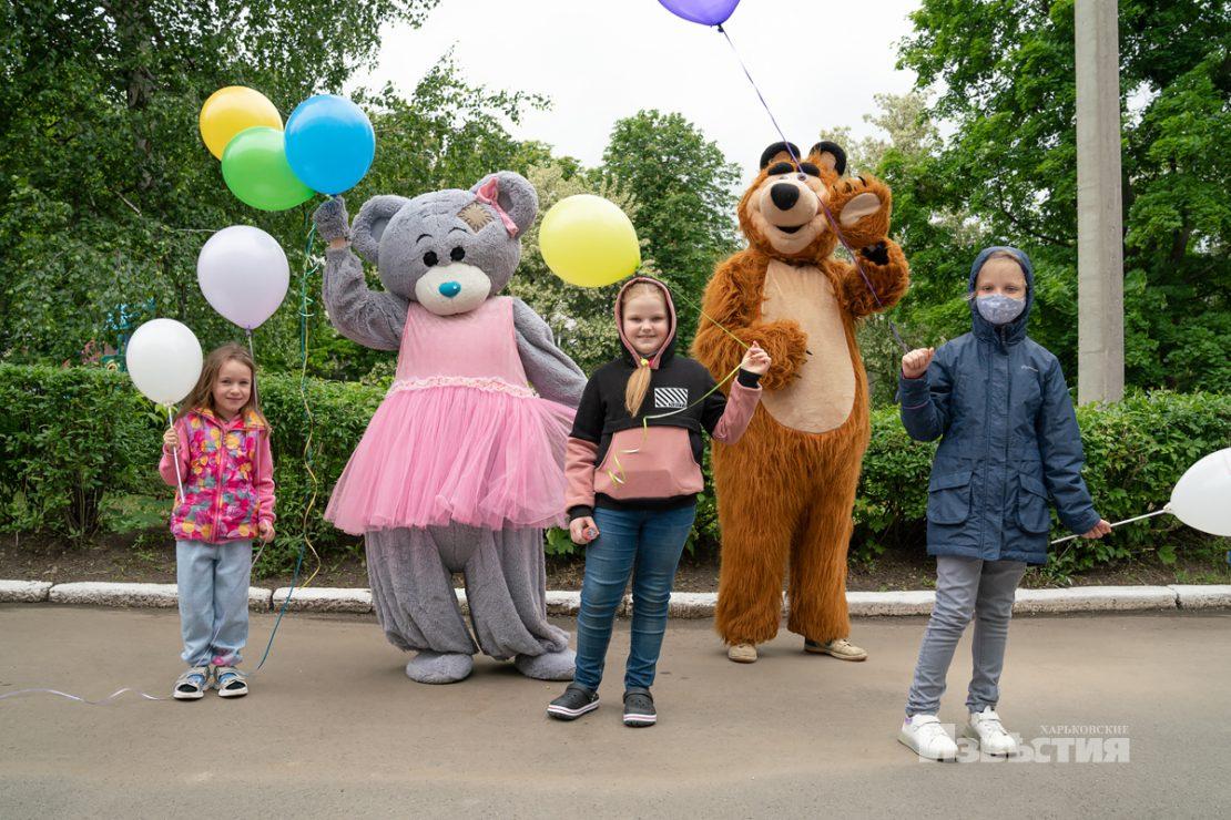 Новости Харькова: В гости к маленьким пациентам пришли клоуны