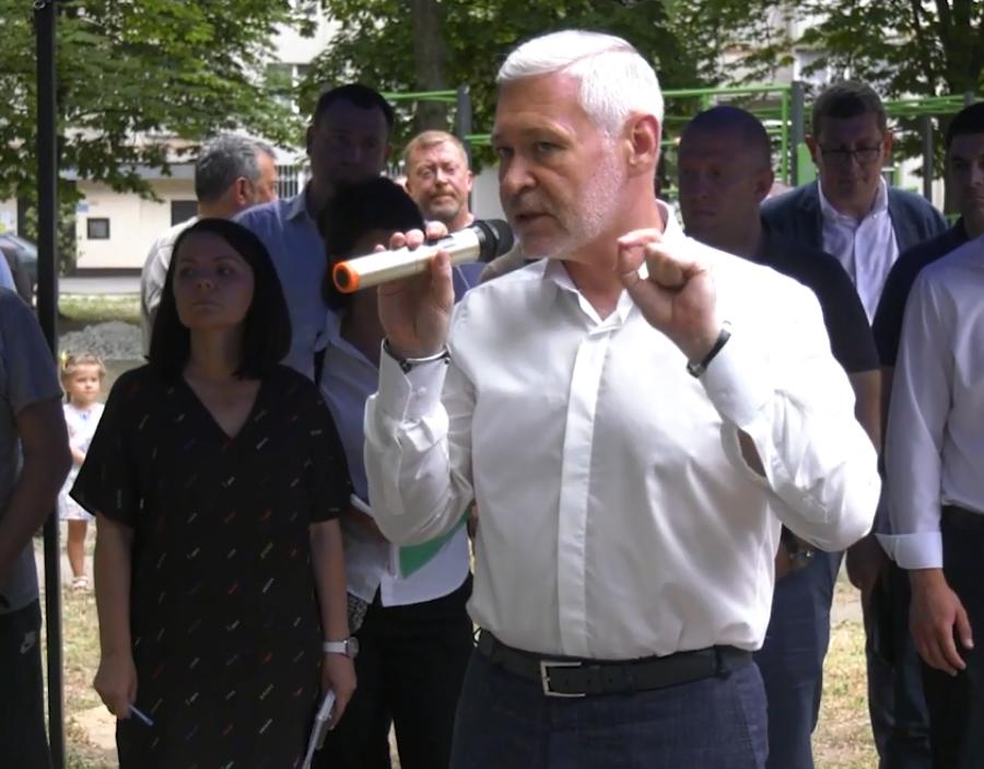 Игорь Терехов встретился с харьковчанами. Новости Харькова