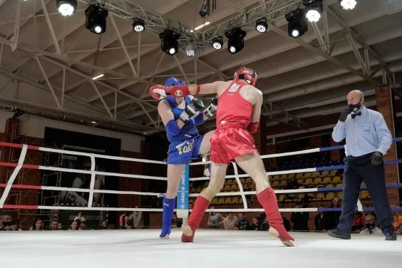 Харьковчане стали победителями ЧУ по таиландскому боксу