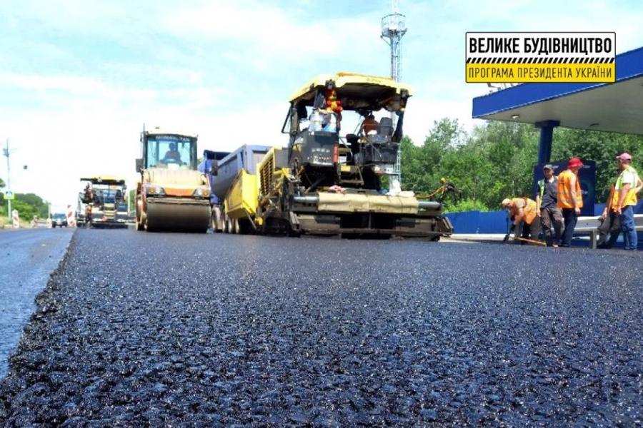 Новости Харькова: На окружной ремонтируют дорогу