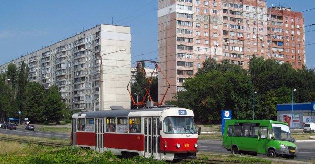 Трамваи  №27 и  8 на время  изменили движение. Новости Харькова