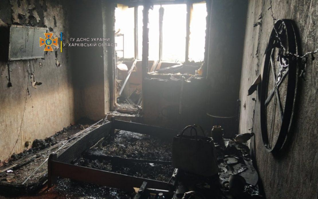 Пожар в Харькове: В Песочине горела многоэтажка