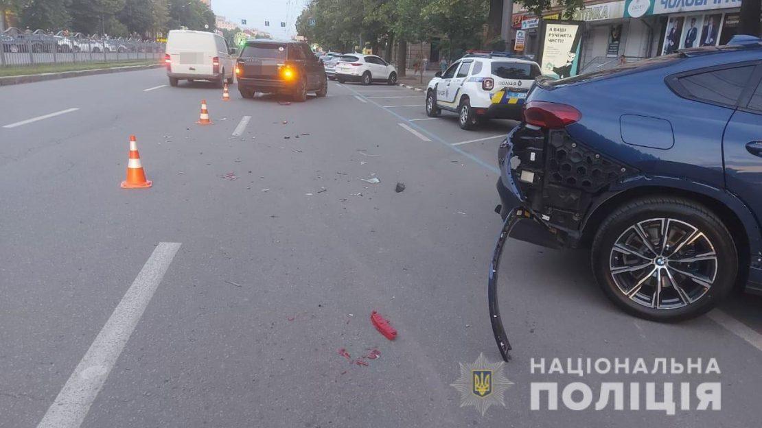 Новости Харькова: В ДТП на проспекте Науки пострадал сын Фельдмана