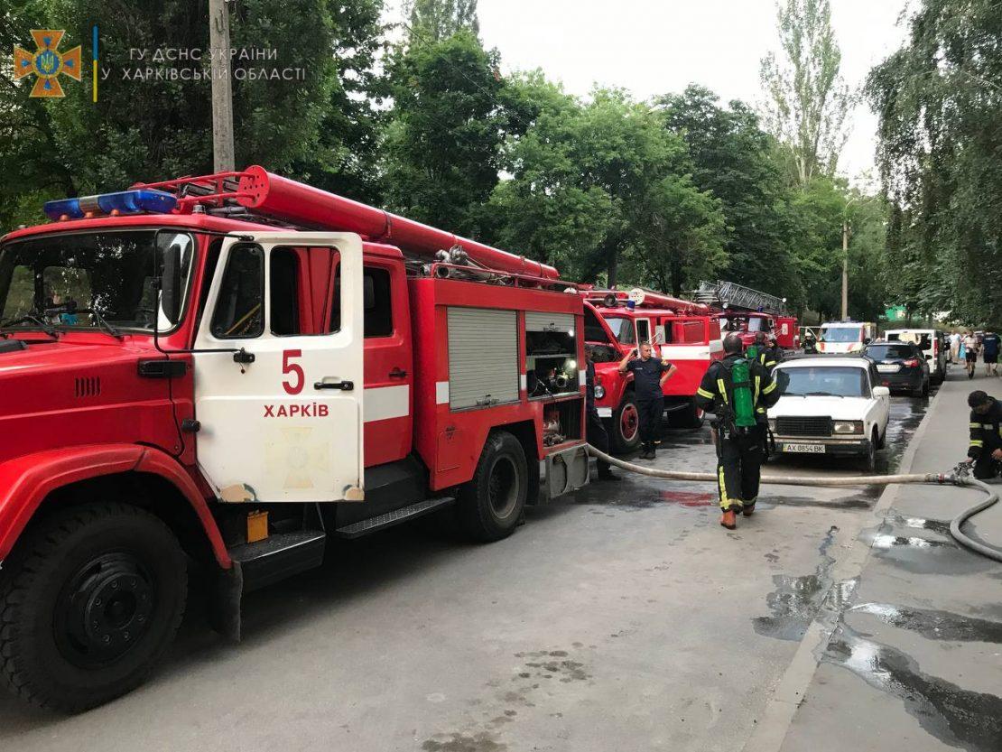 Новости Харькова: Школьник купил воды пожарным и получил подарок