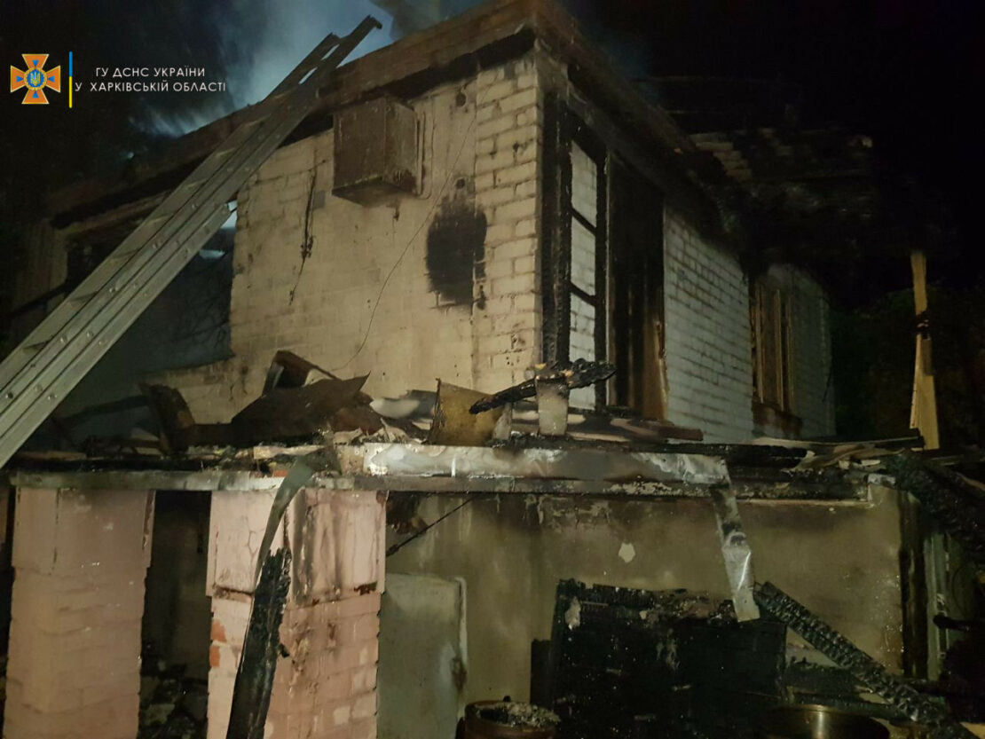 Новости Харькова: пожар на даче