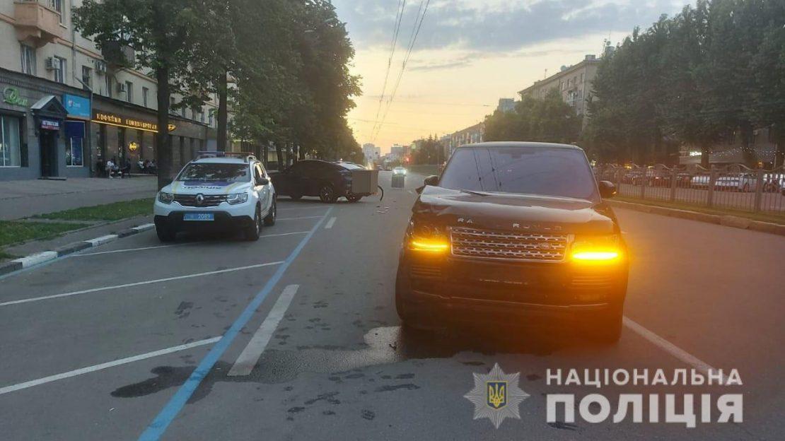 Новости Харькова: В ДТП на Проспекте Науки пострадали 3 человека