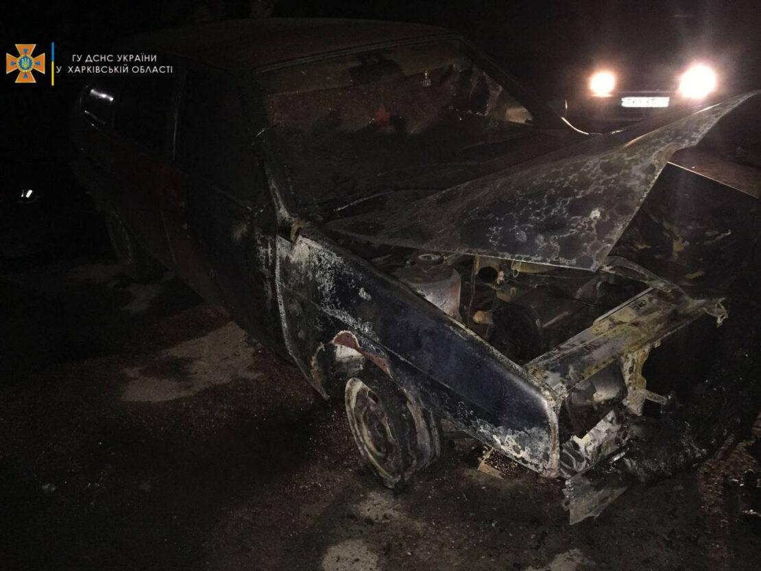 Новости Харькова: В Шевченковском районе горели два автомобиля