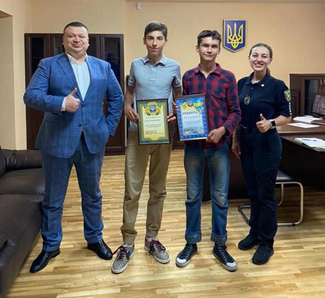 В Харькове регбист с другом помогли поймать преступника