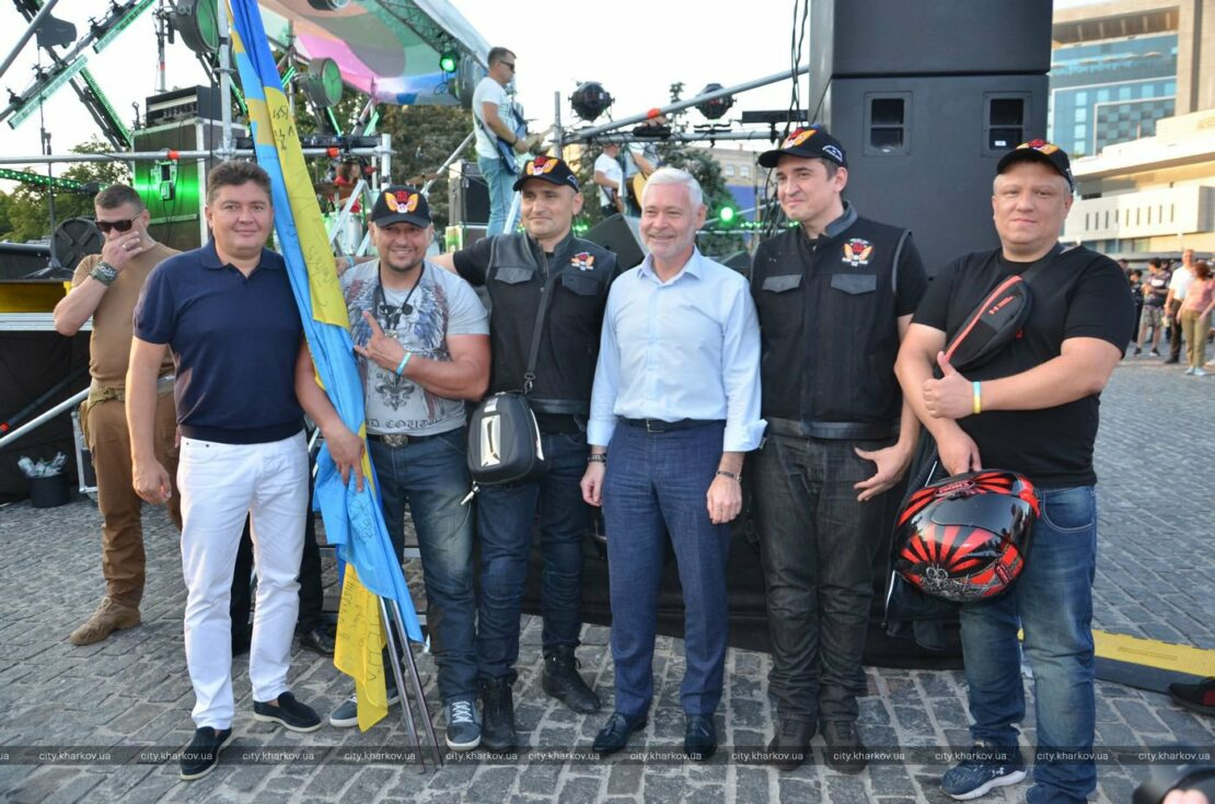 Новости Харькова: мотопробег единства в Харькове