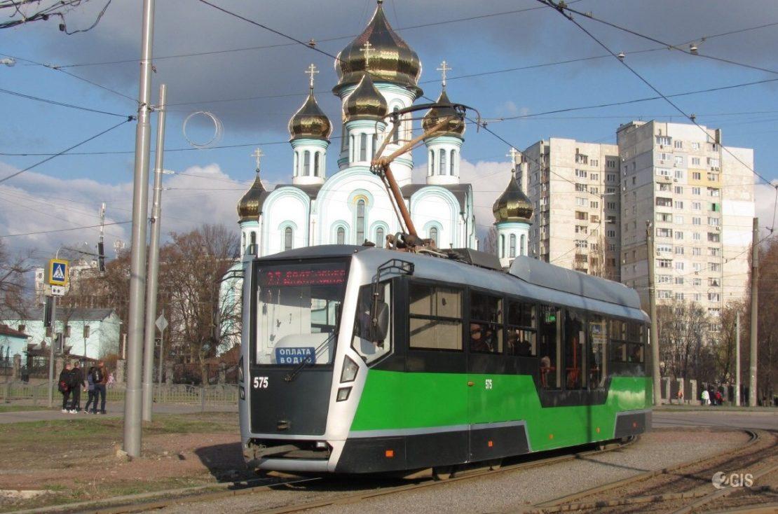 Новости Харькова: два трамвая временно изменят маршрут