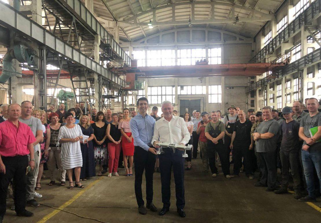 Новости Харькова: Игорь Терехов посетил бронетанковый завод