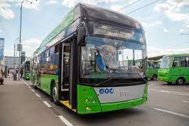 Новости Харькова: подготовка троллейбуса к выходу на маршрут