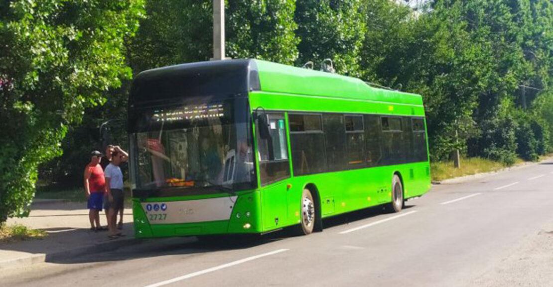 В Харькове заработали новые троллейбусные маршруты на Рогань