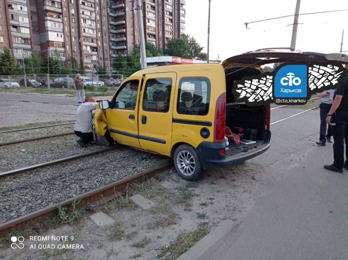 Новости Харькова: пьяное ДТП на Москалевской