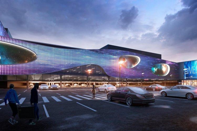 Новости Харькова: В ТРЦ Planeta Mall будет фасад, как в Дубае