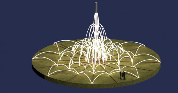 Новости Харькова: Строительство светового фонтана началось