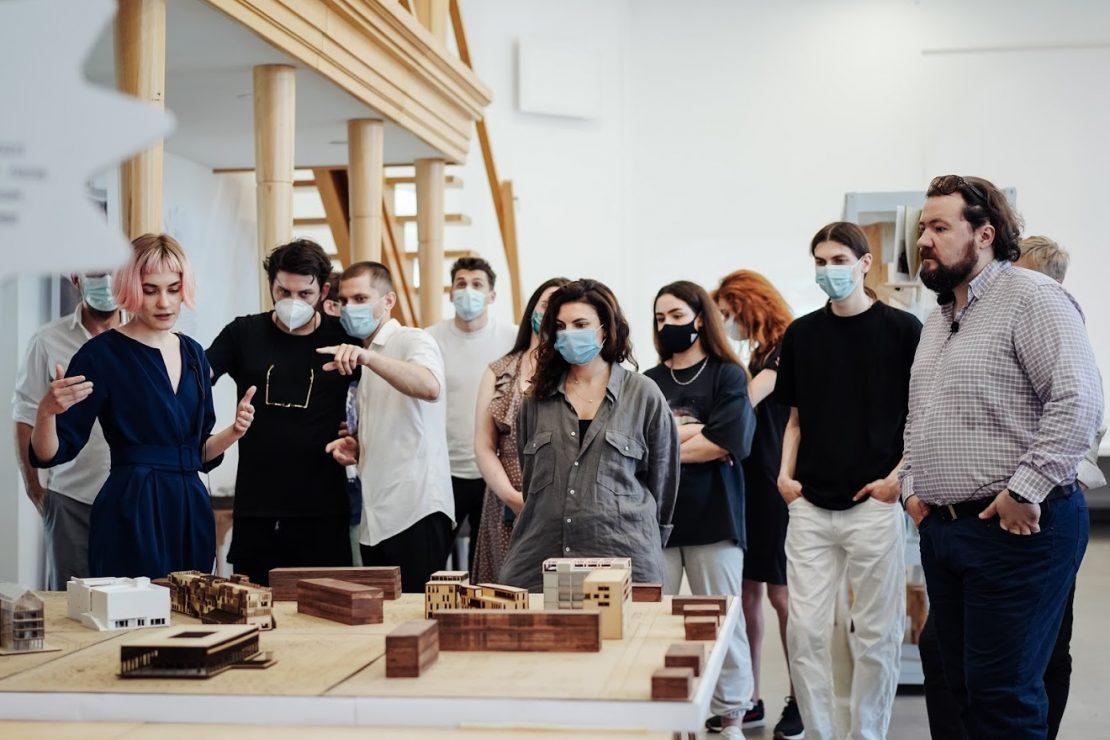 Новости Харькова: Выставка работ молодых архитекторов