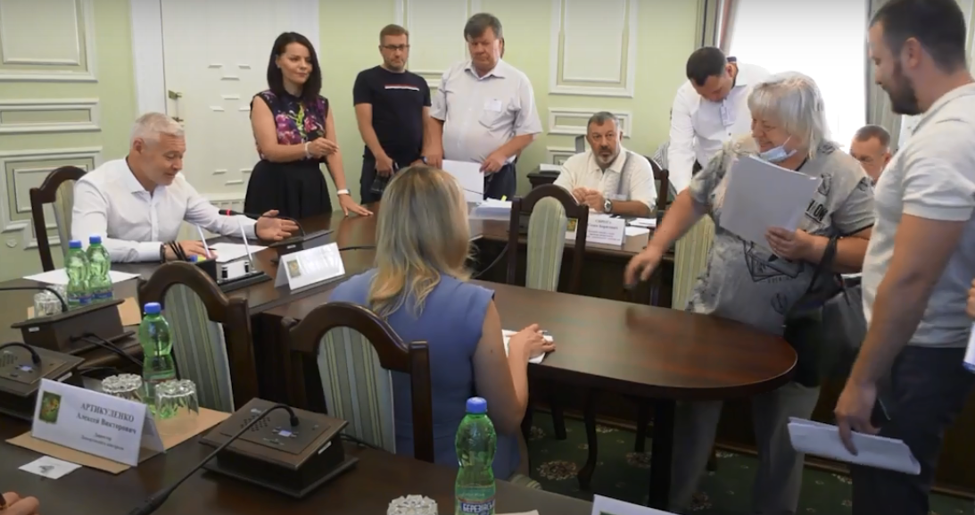 Новости Харькова: Игорь Терехов встретился с харьковчанами