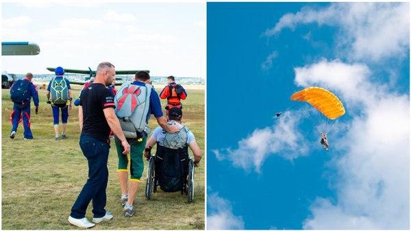 Новости Харькова: параспортсмен осуществил свою детскую мечту