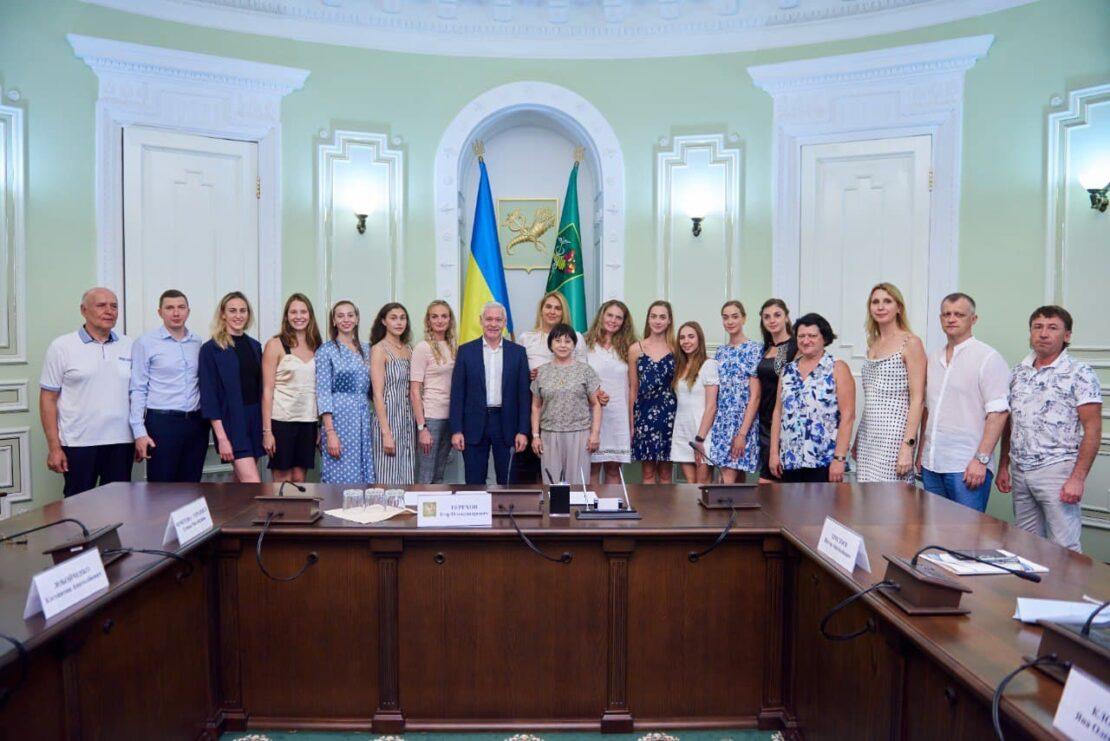 Новости Харькова: флешмоб в поддержку харьковских спортсменок