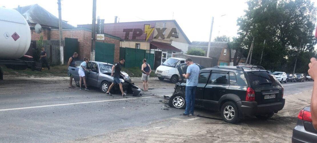Новости Харькова: В ДТП в Малой Даниловке пострадали люди