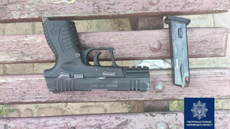 Новости Харькова: патрульные задержали мужчину с огнестрелом