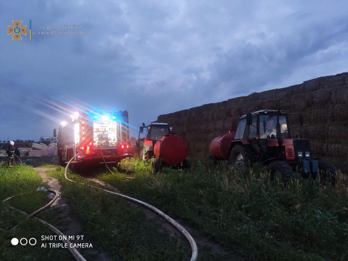 Новости Харькова: ликвидирован пожар в фермерском хозяйстве