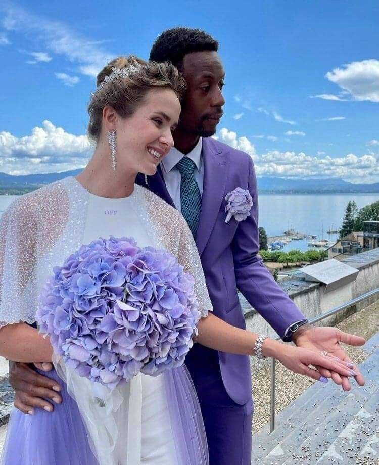 Свитолина вышла замуж за  французского теннисиста Гаэля Монфиса